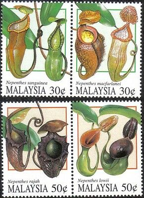 1996 Pitcher Plant Flower Flora Nepenthes Malaysia Stamp MNH