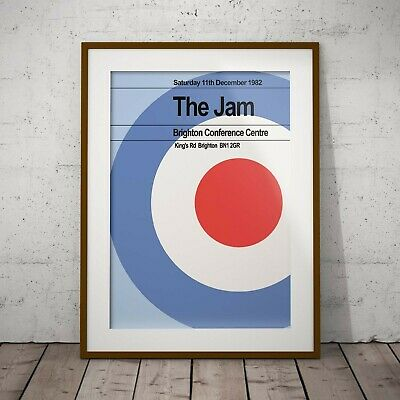 The Jams Last Concert Print or Two Posters Olivia Valentine© 2017 NEW Exclusive