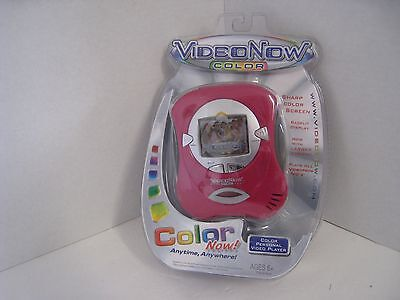 VIDEO NOW Color Personal Video Player Purp NEW IN PACKAGE Tiger Electronics 2004