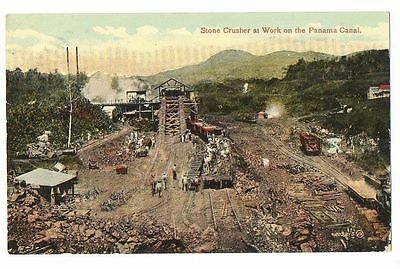 Panama Canal - Stone Crusher at work