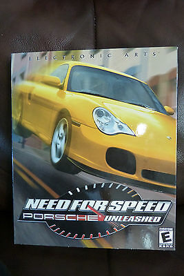NEED FOR SD Porsche Unleashed PC CD racing game Big Box ...