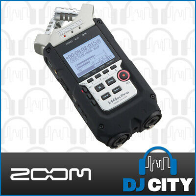 Zoom H4n PRO Portable Field Recorder w/ Built-in Mics, 4-Track Recording, & FX