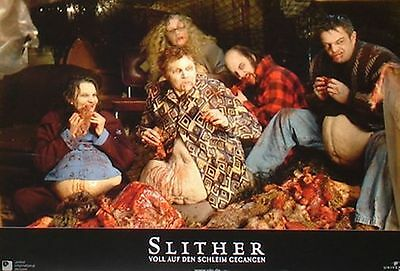 SLITHER Lobby Cards Set - Nathan Fillion, Michael Rooker, Elizabeth Banks HORROR