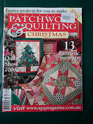 Australian Patchwork & Quilting - Christmas Issue - Craft Magazine + Patterns