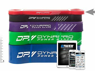 DYNAPRO Power Resistance Bands - Assisted Pull-Up Band, Resistance & Stretch Ban
