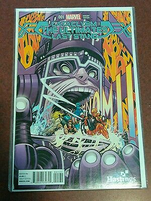 Marvel Cataclysm The Ultimates Last Stand #1 Hastings Exclusive Variant