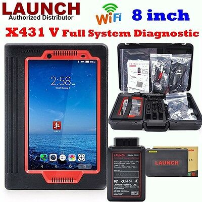 """LAUNCH X431 V 8"""" Tablet Full System Auto Car Code Reader Diagnostic Update TOOL"""