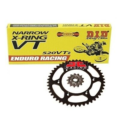 YAMAHA WR250R (08-15) DID X RING Chain+JT Front & Rear Sprocket Set