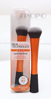 Real Techniques by Sam & Nic Chapman Expert Face Brush #1411NP 100% Authentic