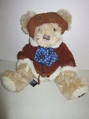 "Rolls Royce Bentley Birkin Bear 16"" Plush"