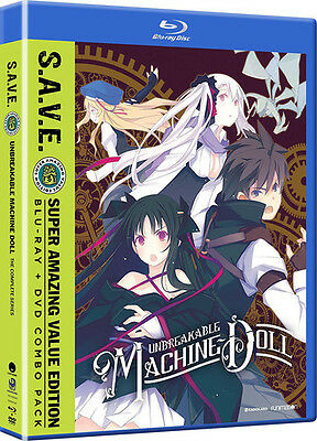Unbreakable Machine-Doll: Complete Series - Save (2017, Blu-ray NUEVO (REGION A)