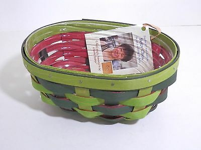Longaberger 2016 Watermelon Seedling Basket with Protector - New