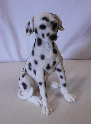 """Dalmatian Female Puppy Dog Figurine 6 3/4"""" Tall Unbranded Made in China"""