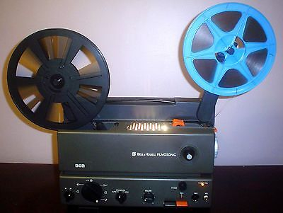 B&H Filmosonic 21DCR Super 8 SOUND Movie  Projector ~ Japan BY Sankyo ~
