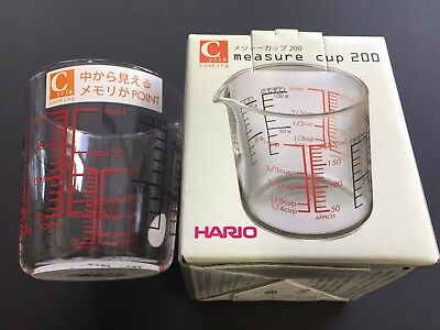 Hario Major Cup 200 ml CMJ-200 Heat Resistant Glass Kitchenware MADE IN JAPAN