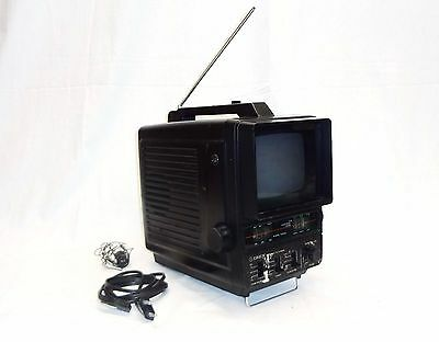 VTG ORION Portable Television TV / RADIO  AM FM NO - 7152 Very Rare