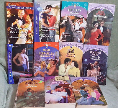 Lot of 11 Silhouette Special Edition Romance Books