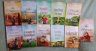 Lot of 8 Heartsong Presents Romance Books