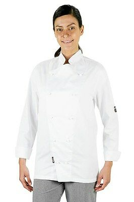 Prochef Chef Jacket Traditional Long Sleeve Small White