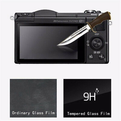 LCD Screen Protector Tempered Glass Film Cover For Sony Alpha A5100 A5000 A6000
