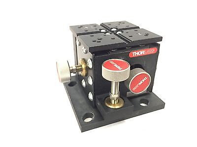 Thorlabs MBT602 3-axis xyz microblock with 3 thumb screw adjusters