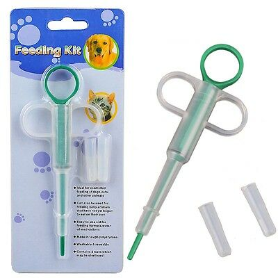 Dog Cat Pet Pill Gun/Popper/Piller Dog/Pet Tablet or Capsule Medication Syringe