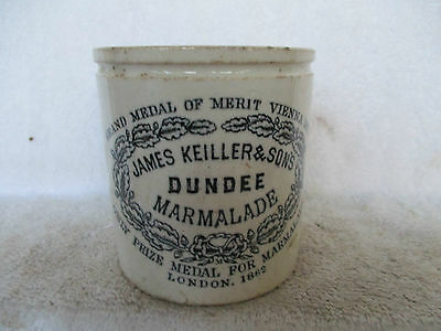 Keillers Marmalade Pot With Chip