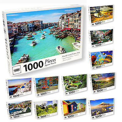 1000 Pieces Jigsaw Puzzles Toy Puzzle Craft Hobby Puzzles Fun Gift 75x50cm