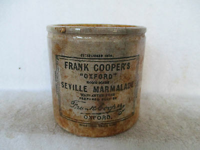 Large Coopers Marmalade Pot