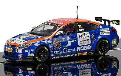 C3736 Scalextric Slot Touring Car BTCC MG6 Jack Goff Brands Hatch 2015 New UK
