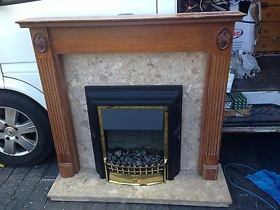 Dimplex Fire With Granite Hearth And Surround