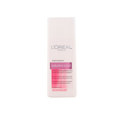 Cosmética L'Oreal Make Up mujer SUBLIME&SUAVE leche limpiadora PSS 200 ml