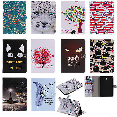 FZ73 Wallet Leather Case Flip Cover For iPad Samsung Tab T350 T550 T560 T580