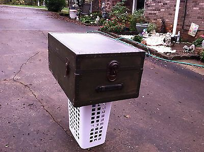 Old Very Rare One Of A Kind Footlocker Trunk/Chest