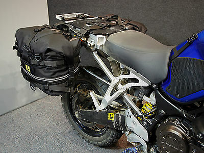 Wolfman Motorcycle Luggage Rocky Mountain Panniers / Saddle Bags - Black