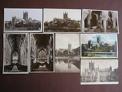 Worcester Cathedral - 8 post cards - see below