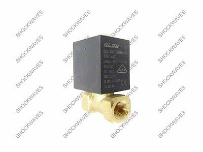 Solenoid Valve OLAB 2 Port G1/8 BSP 1/8 220-230V Coil for Coffee Machine Maker
