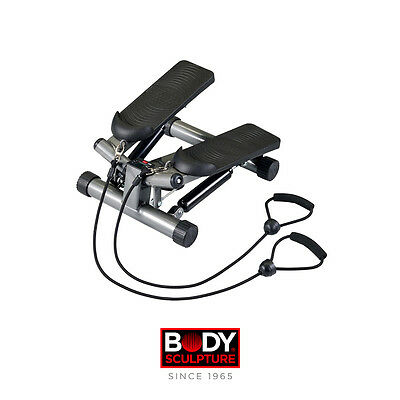Body Sculpture BS1320 Lateral Stepper with Resistance Cords