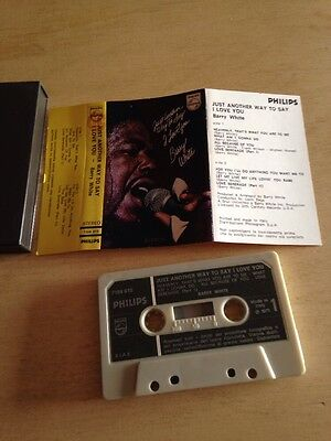 Barry White Just Another Way To Say I Love You MC Cassette Tape