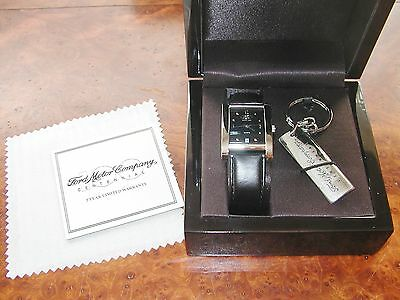 RARE Ford 2003 Centennial Watch and Keychain Made in USA