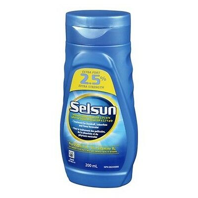 Selsun Blue Extra Strength 2.5% Selenium Sulfide Lotion