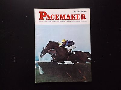 Pacemaker Magazine Dec. 1971 Pry & Eddie Harty On Cover