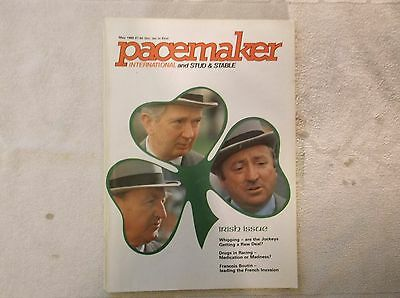 """""""pacemaker"""" Magazine  May 1980 Irish Trainers On Cover"""