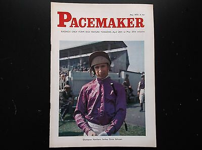 Pacemaker Magazine May 1970 Ernie Johnson On Cover