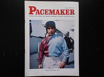 Pacemaker Magazine Aug. 1970 Duncan Keith On Cover