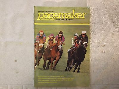 """""""pacemaker"""" Magazine Feb. 1979  Larkspur Stakes Leopardstown On Cover"""
