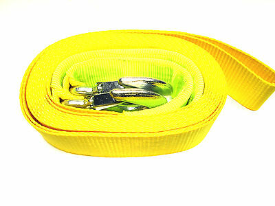 Heavy Duty 6m 3 ton Tow Strap / Towing Rope / Webbing Recovery  TZ AU322