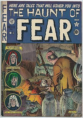 **the Haunt Of Fear #11**(1952, Ec)**golden Age Horror**early Crypt Keeper!**