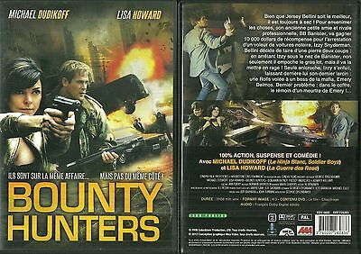 RARE / DVD - BOUNTY HUNTERS avec MICHAEL DUDIKOFF, LISA HOWARD ACTION COMME NEUF