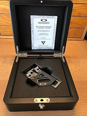 Brand New Oakley Carbon Fiber Money Clip - Limited Edition (Only 500 made)